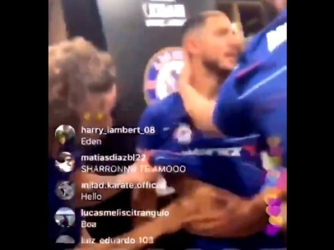 Eden Hazard mocked by Gonzalo Higuain and David Luiz for his body fat after Chelsea's Europa League win over Arsenal