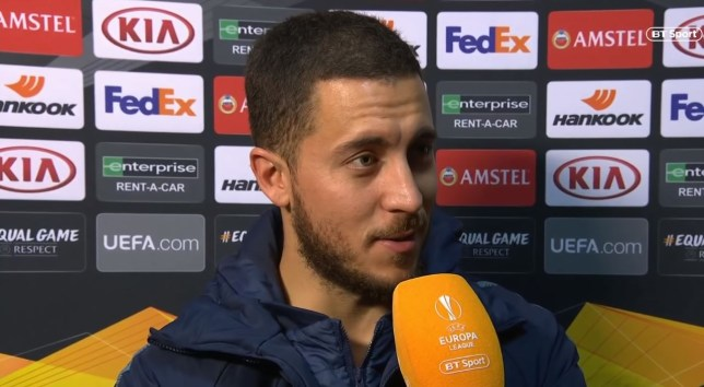 Eden Hazard says Chelsea conceded a goal 'like always'