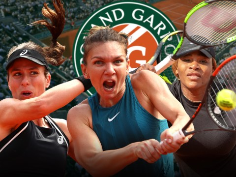 Question marks hang over Serena Williams, Simona Halep and Johanna Konta ahead of French Open