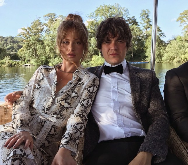 Frankie Cocozza and wife Bianca