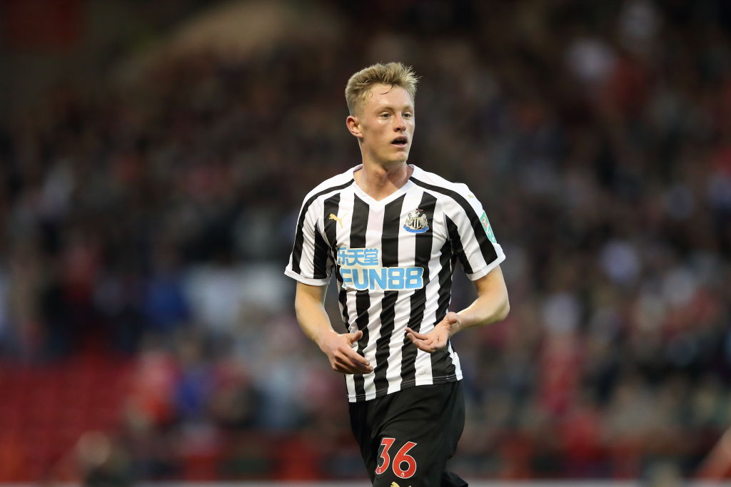 Newcastle United issue response to Manchester United over interest in Sean Longstaff