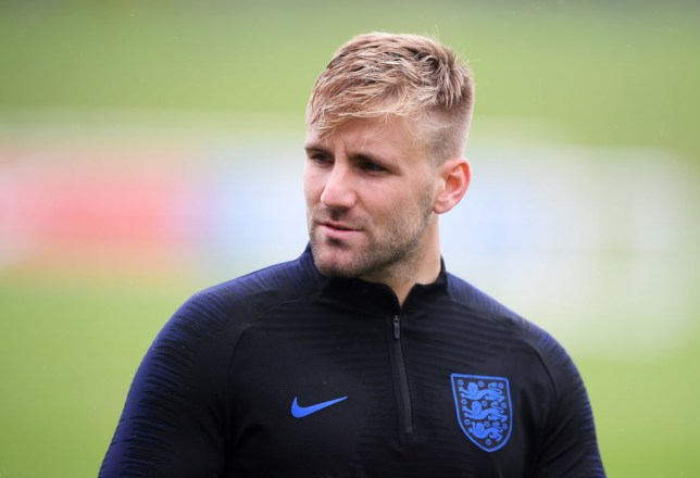 Luke Shaw left out of England squad for Nations League