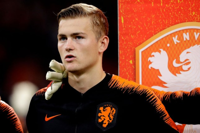 Manchester United and Barcelona are interested in de Ligt