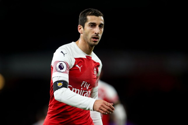 Arsenal are open to offers for Henrikh Mkhitaryan