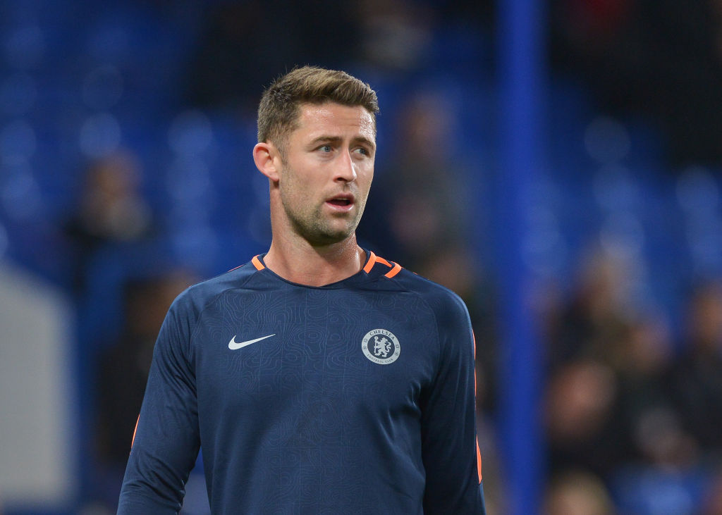 Gary Cahill hits out at Maurizio Sarri over a lack of respect at Chelsea