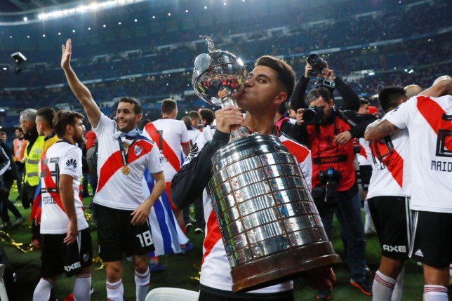 Arsenal move for River Plate midfielder Exequiel Palacios