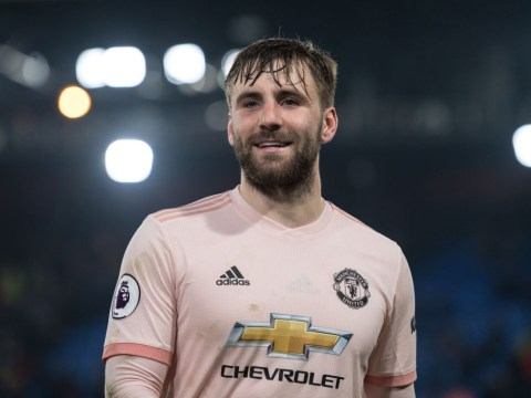 Manchester United star Luke Shaw training at Carrington to get head start on pre-season