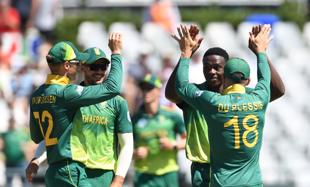 Kagiso Rabada is set to be fit for South Africa's World Cup opener against England