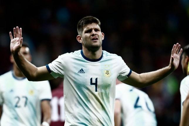 Arsenal 'intensifying' move for Argentina centre-back Walter Kannemann