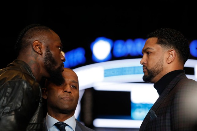 Boxing News Dominic Breazeale Claims Deontay Wilder Will Retire