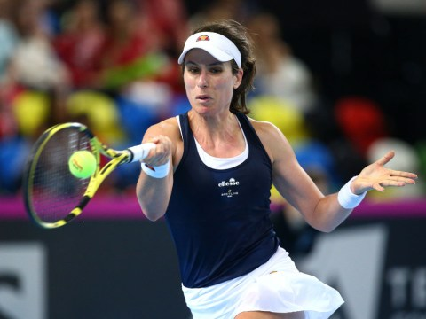 Johanna Konta reaches first clay court final in Rabat