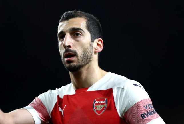 09092b36dfd UEFA will block Arsenal from showing support for Henrikh Mkhitaryan in  Europa League final against Chelsea