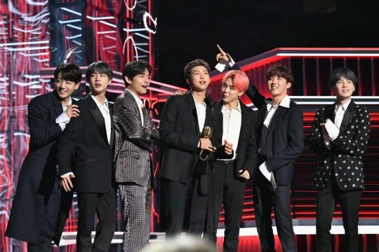 BTS win Billboard Music Award