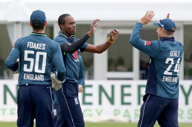 Jofra Archer made his England debut in the ODI victory over Ireland