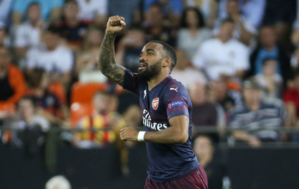 Alexandre Lacazette reveals the biggest improvement he's made under Unai Emery at Arsenal