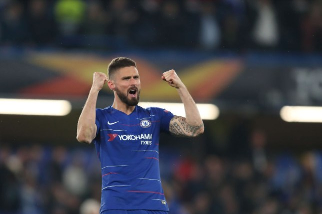 Olivier Giroud has signed a new deal with Chelsea