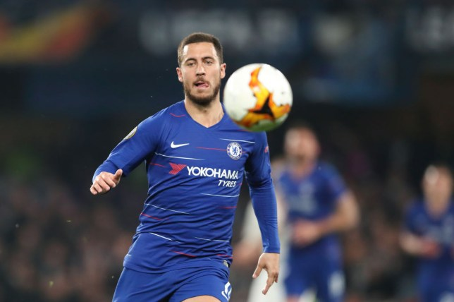 Eden Hazard scored the decisive penalty as Chelsea beat Eintracht Frankfurt in their Europa League semi final