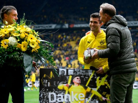 Borussia Dortmund give Christian Pulisic emotional send-off ahead of Chelsea transfer