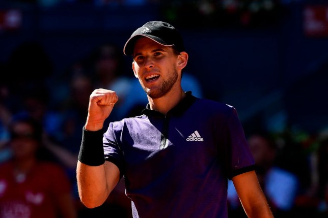 Dominic Thiem rates Rafael Nadal as the French Open favourite