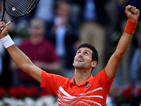 Novak Djokovic downs Stefanos Tsitsipas to win Madrid Open and equal Nadal's Masters 1000 record