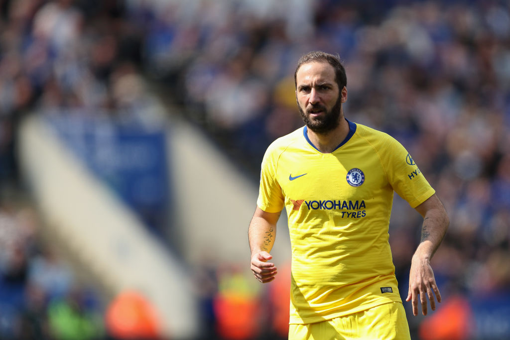 Gonzalo Higuain has struggled to live up to expectations since joining Chelsea