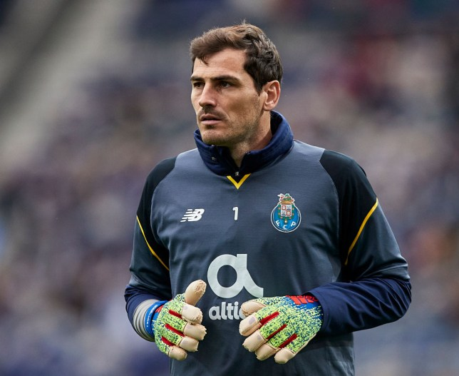 0726ce98587 Iker Casillas taken to hospital after suffering suspected heart attack in  training