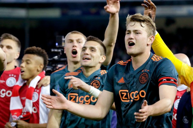 Manchester United have reportedly offered Matthijs de Ligt a £350k-a-week contract