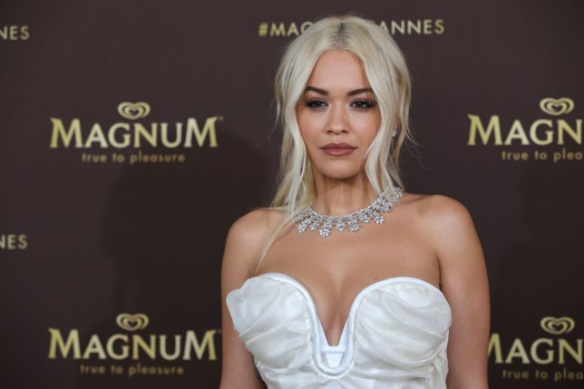 Rita Ora at Magnum party in Cannes
