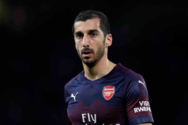Henrikh Mkhitaryan will not feature in Arsenal's upcoming Europa League final against Chelsea