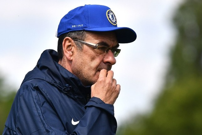 Juventus are keen to make Chelsea's Maurizio Sarri their new manager
