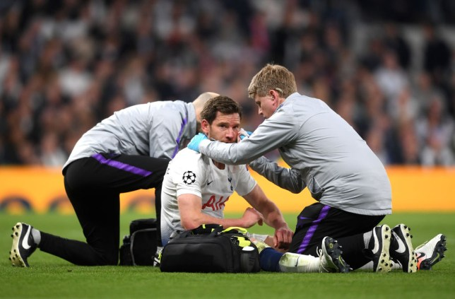 Spurs have confirmed that Jan Vertonghen did not suffer a concussion against Ajax