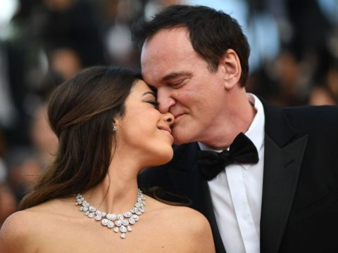Newlyweds Quentin Tarantino, 55, and Daniella Pick, 35, look totally smitten at Cannes