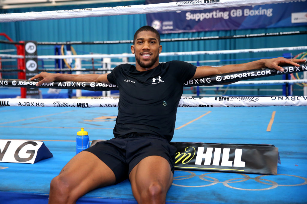 Anthony Joshua breaks down how he would beat Dillian Whyte in rematch