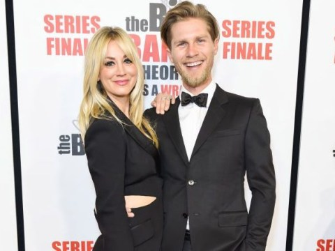 Kaley Cuoco gets roasted by husband Karl Cook about not being the funniest on The Big Bang Theory