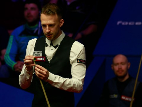 Judd Trump finds form to edge ahead of Gary Wilson in World Championship semi-final