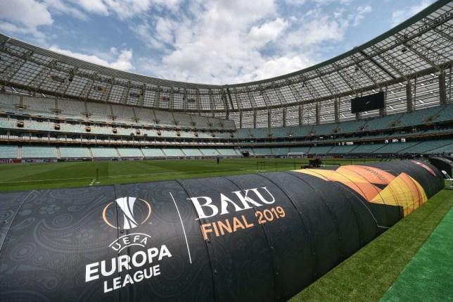 Baku Olympic Stadium, Azerbaijan