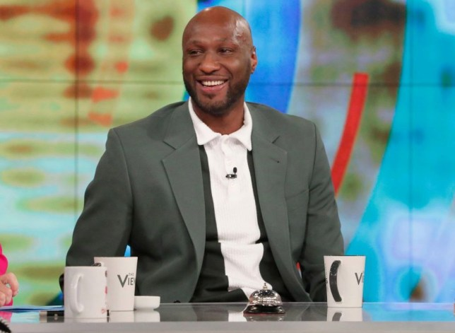 "Lamar Odom appears on ABC's ""The View"""