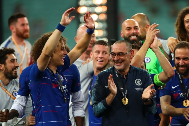 Chelsea won the Europa League in Baku