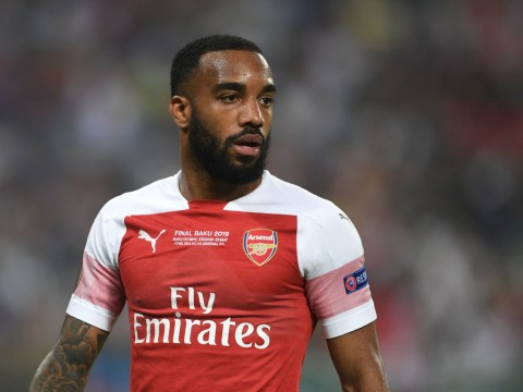 Alexandre Lacazette spotted in Barcelona amid transfer speculation