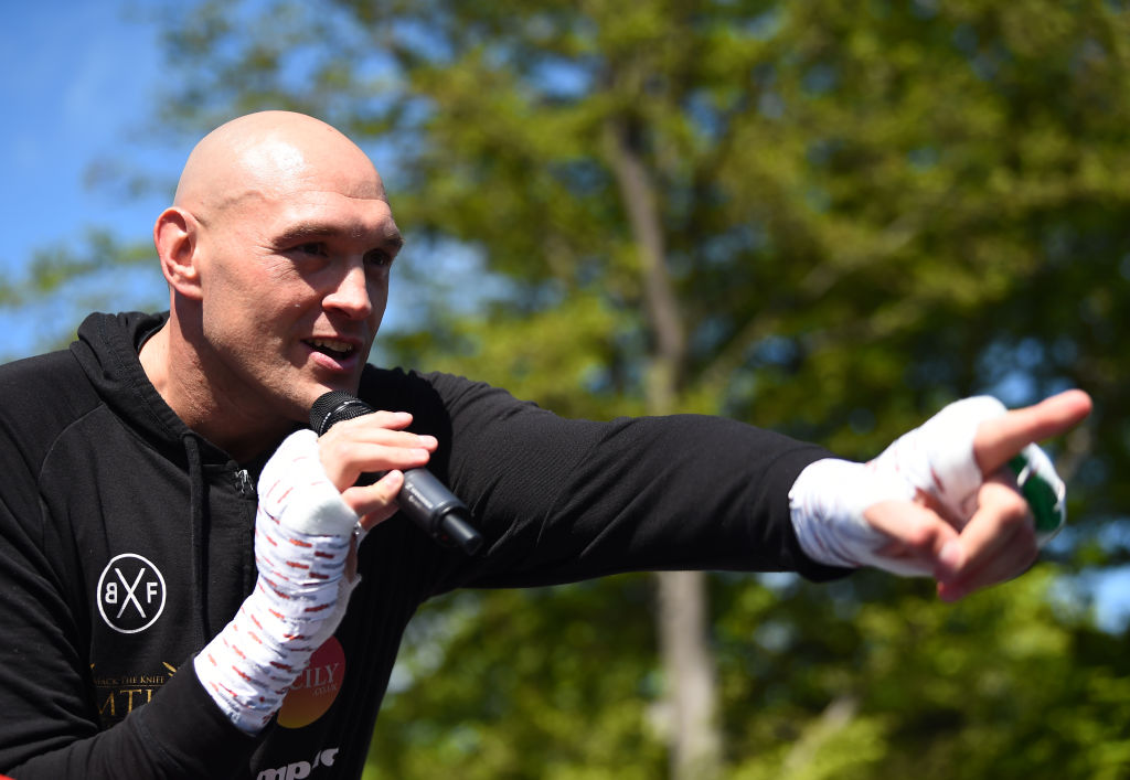 Tyson Fury will accept Dillian Whyte fight on one condition