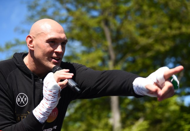 Tyson Fury says he is now happy to fight Dillian Whyte
