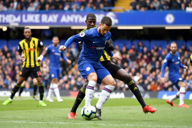 Eden Hazard has provided more assists than any other player in Europe's top five leagues this season