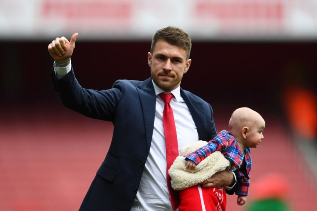 Aaron Ramsey will miss the Europa League final against Chelsea with a hamstring injury