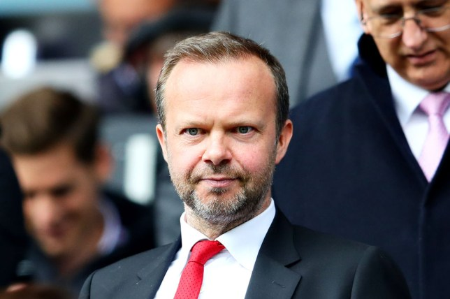 Ed Woodward is leading Manchester United's transfer strategy