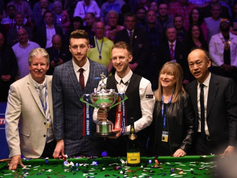 Judd Trump explains how his family helped him to Snooker World Championship title