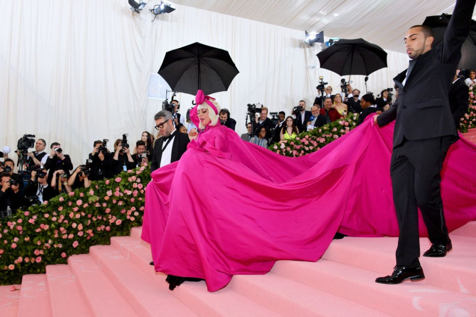 Lady Gaga attends The 2019 Met Gala Celebrating Camp: Notes on Fashion at Metropolitan Museum of Art on May 06, 2019 in New York City