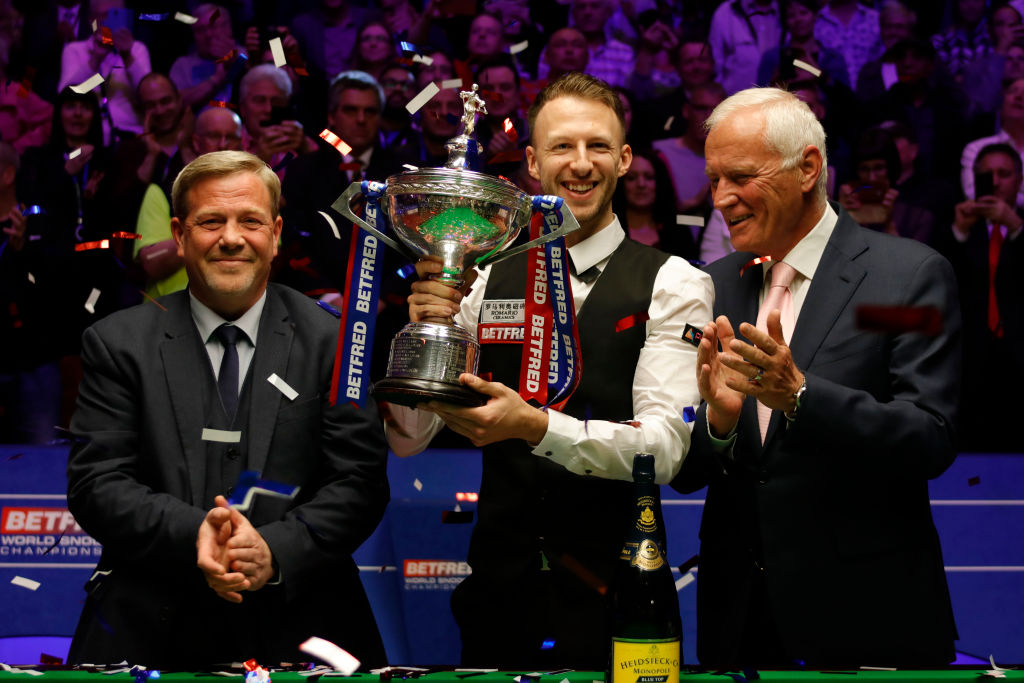 Barry Hearn predicts £50m windfall for Judd Trump after Snooker World Championship win