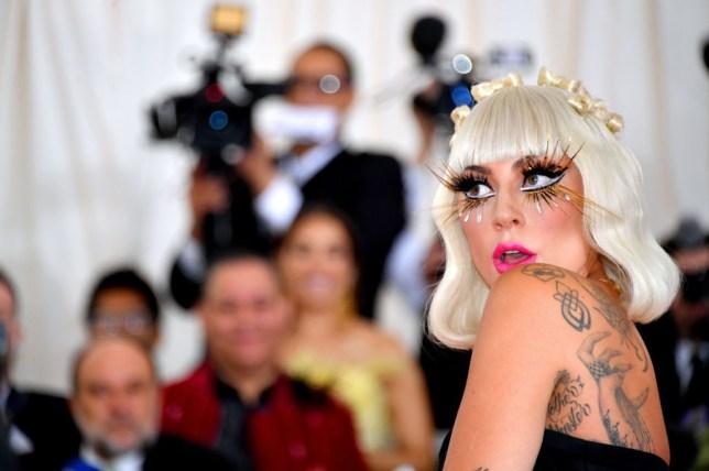 Lady Gaga at the Met Gala 2019