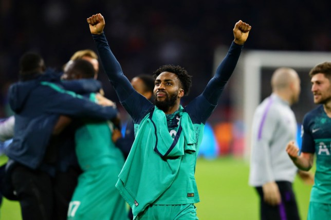 Danny Rose is expected to start for Spurs in the Champions League final