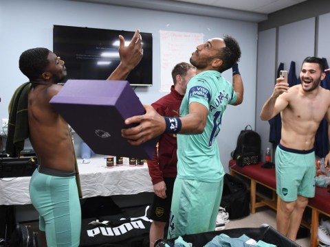 Unai Emery reveals conversation with Pierre-Emerick Aubameyang before brace to win Golden Boot
